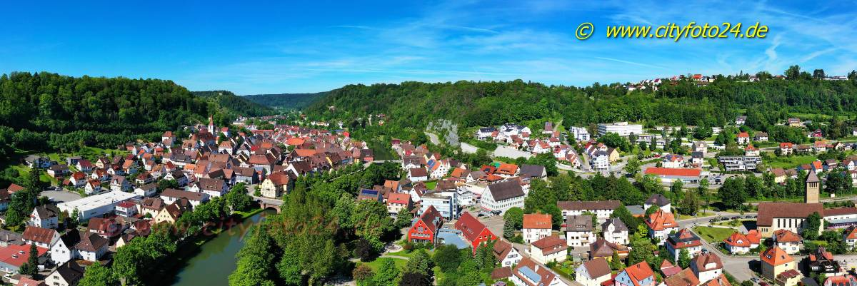 Panorama Sulz am Neckar